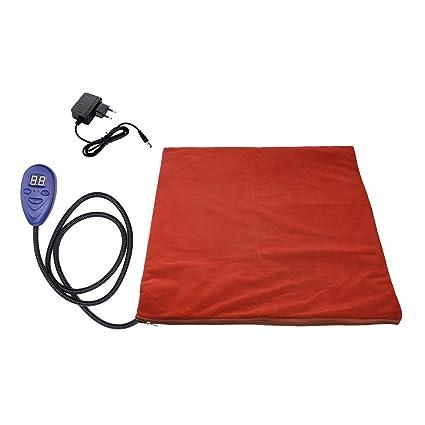 Vinteky® Almohadilla eléctrica para perros Cojines térmicas para perreras con inteligente constante de temperatura Cojín
