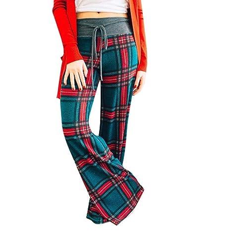 Apragaz Pantalones Sueltos De Yoga para Mujer Pantalones De ...