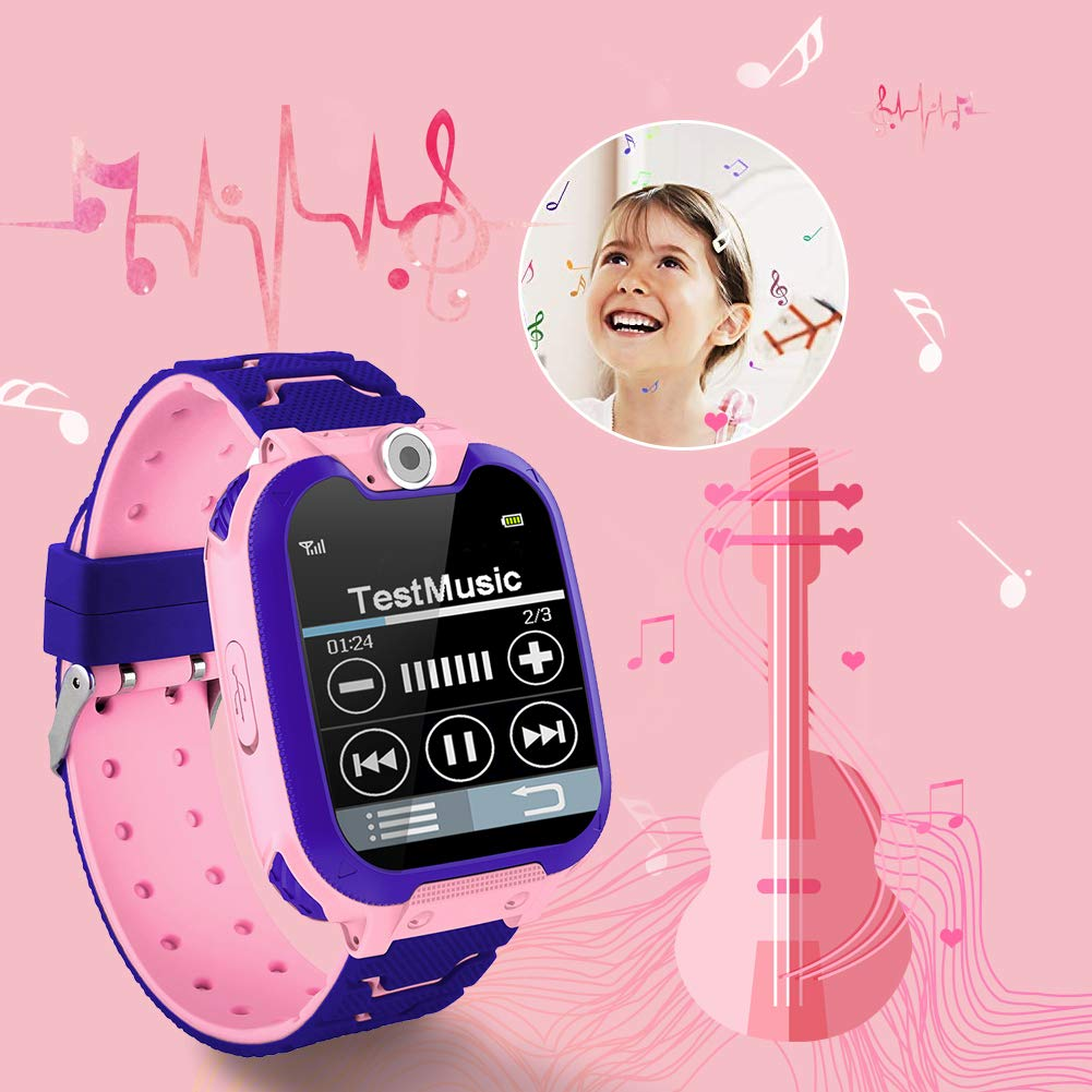 HuaWise Kids Smartwatch [SD Card Included], 1.54 inch Colorful Touch Screen Smartwatch for Children with Quick Dial, Camera and Music Player,Calculator and Alarm for Boys and Girls(NOT Support AT&T) by HuaWise (Image #6)