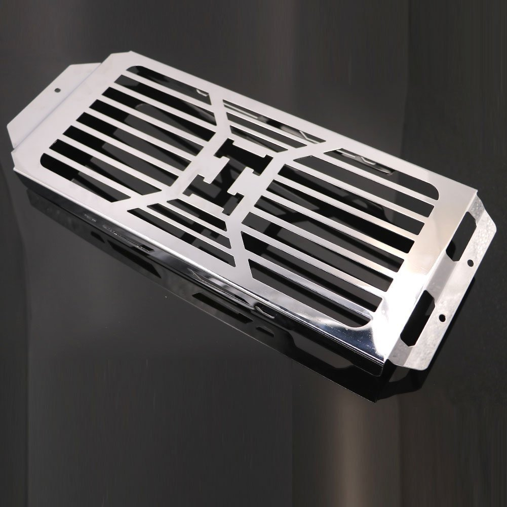 Alpha Rider Motorcycle Stainless Radiator Cover Grill Guard For HONDA shadow Aero VT400 750 2004-2012