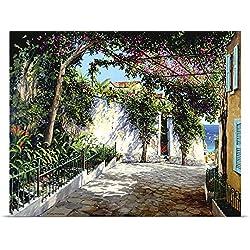 Michael Swanson Poster Print entitled Positano Sunlight