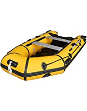 Max4out Inflatable Boat Fishing Dinghy 2 Paddles Sport Tender Inflatable Raft 10 Feets