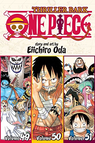 49-51: One Piece (Omnibus Edition), Vol. 17: Thriller Bark, Includes vols. 49, 50 & 51 (1 1 49)