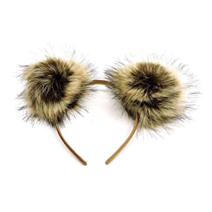 2Chique Boutique Women's Pom Pom Headband