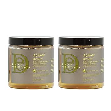 Amazoncom Design Essentials Natural Honey Curl Forming Custard