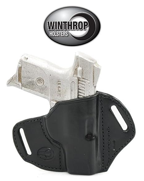 Ruger SR9C OWB NO Shield Holster R/H Black - 0172