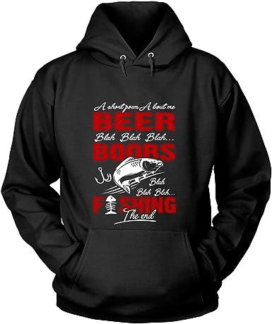 Fishing like boobs Men women T-Shirt Hoodie