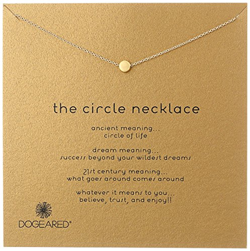 Dogeared Karma The Circle Necklace,16
