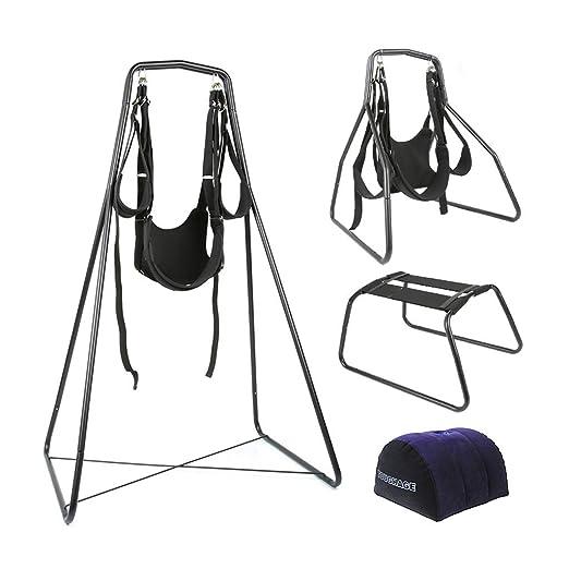 u&h Bed Swing SMD Fun Ǎcacia Chair Couplē Intēractive Sēx ...