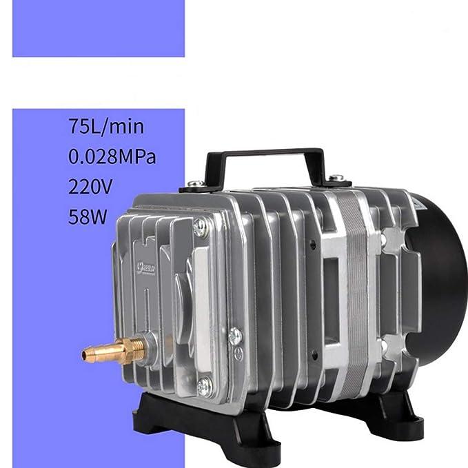 LINANNAV Bomba de oxígeno Cada Vez más Resistente de aleación de Aluminio 58W para Acuario, Estanque, acuaponia, hidroponía: Amazon.es: Hogar