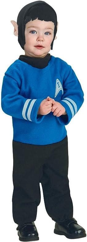 Disfraz de Spock Star Trek para bebé - 6-12 meses: Amazon.es: Ropa ...
