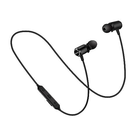Auriculares Bluetooth Inalámbricos con Microfono,Aita BT930 Cascos Deportivos Bluetooth 4.1 Magnéticos Resistente al Sudor