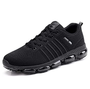 Hombres Aire Bomba Transpirable Malla Zapatos Aire Hombres Cojín Ligero Casual 9ff9c2