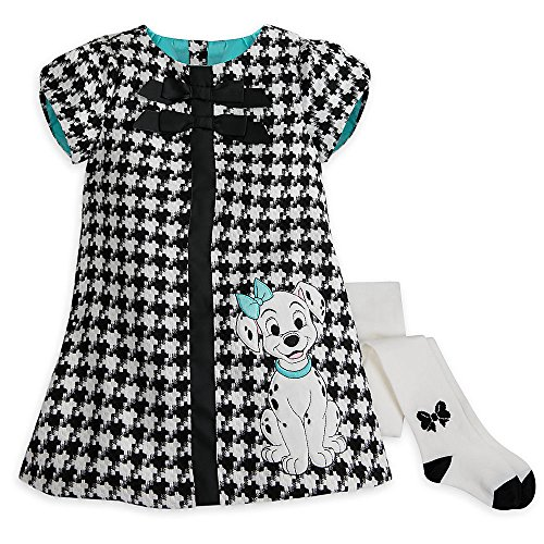 Disney 101 Dalmatians Dress and Leggings Set - Girls Size 5/6