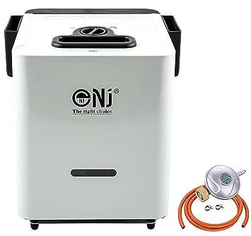 NJCH-01 - Sistema de Agua Caliente Portátil para Camping (Incluye regulador de butano