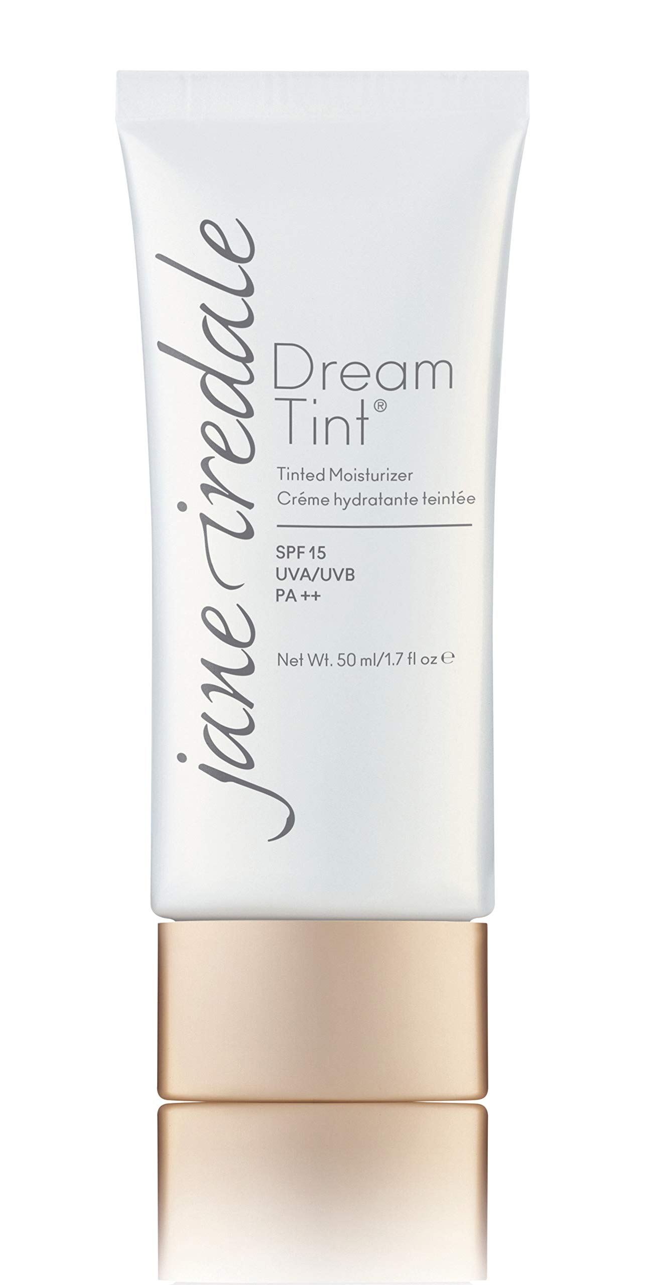 jane iredale Dream Tint SPF 15 Tinted Moisturizer, Medium Light, 1.7 Fluid Ounce by jane iredale
