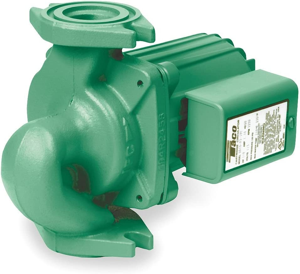 Taco 0010-SF3 Stainless Steel Single Phase Circulating Pump