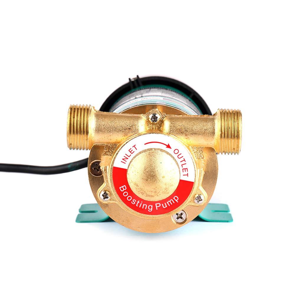 SHYLIYU 230V 120W Druckerh/öhungspumpe Wasserpumpe Hauswasserwerk Automatisch//manuell Haushalt Booster Pumpe Heizungspumpe f/ür Haus und Garten Warmwasser Umw/älzpumpe 25L//min