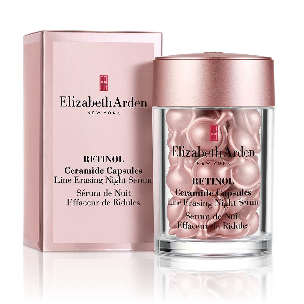 Elizabeth Arden Retinol Ceramide Capsules Line Erasing Night Serum 30 Count Premium Beauty