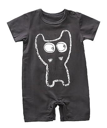 5d8fbe865683 stylesilove Stylish Animals Pattern Baby Boys Short Sleeve Cotton ...
