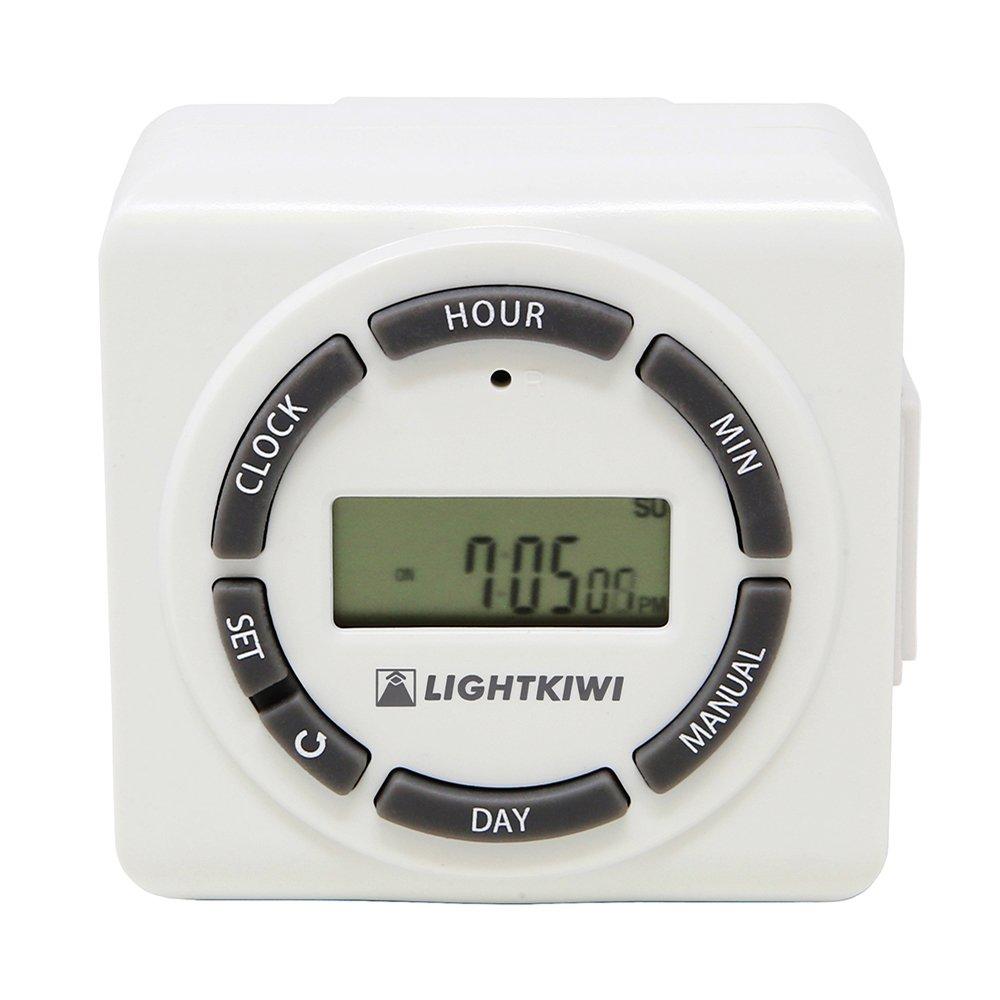 Lightkiwi H5576 Digital Timer for Low Voltage Landscape Lighting Transformer by Lightkiwi