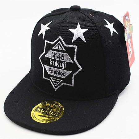 zhuzhuwen Sombrero de béisbol Estrella de Cinco Puntas Bordado ...