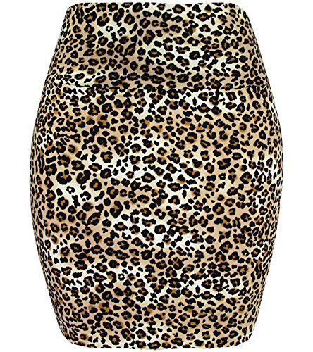 Bring out your wild side with this classic Leopard Print Mini Skirt - many colors - ideal for an 80s look.