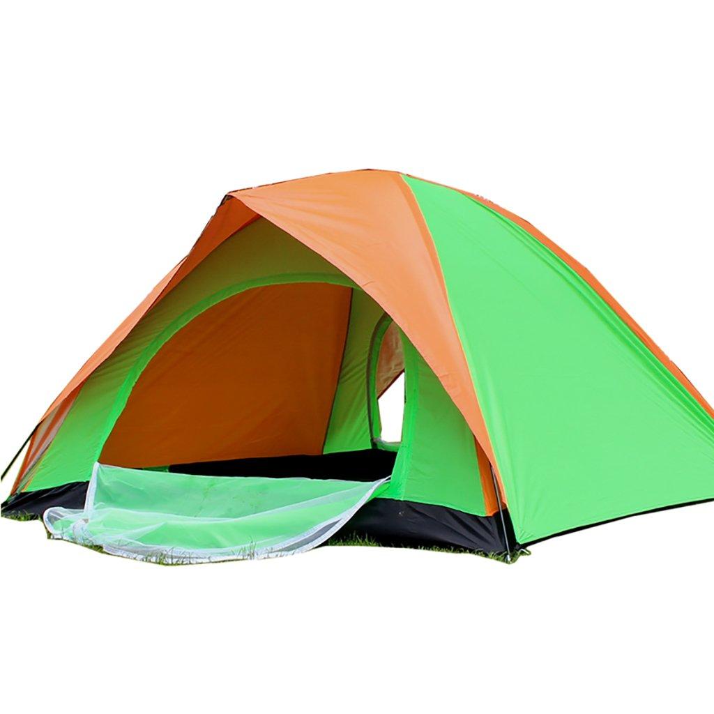 Hand-gebautes Doppelzelt im Freien 3-4 Personen Familie 2 fahren Camping-Single