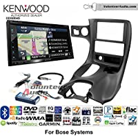 Volunteer Audio Kenwood Excelon DNX694S Double Din Radio Install Kit with GPS Navigation System Android Auto Apple CarPlay Fits 1997-2004 Corvette (With Bose)
