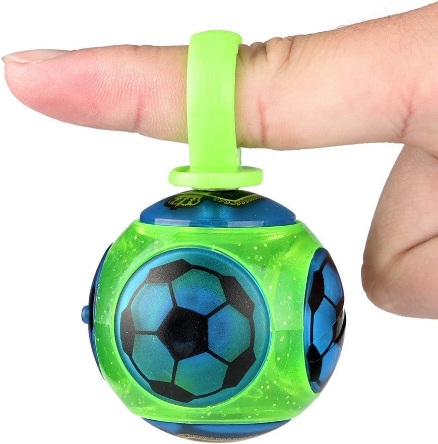 360 ° rotación mano Spinner Mini dedo magnético bola Control rollo ...