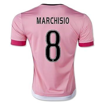 2016 FIGC serie a Juventus FC 8 Claudio Marchisio Away fútbol fútbol Jersey en rosa,