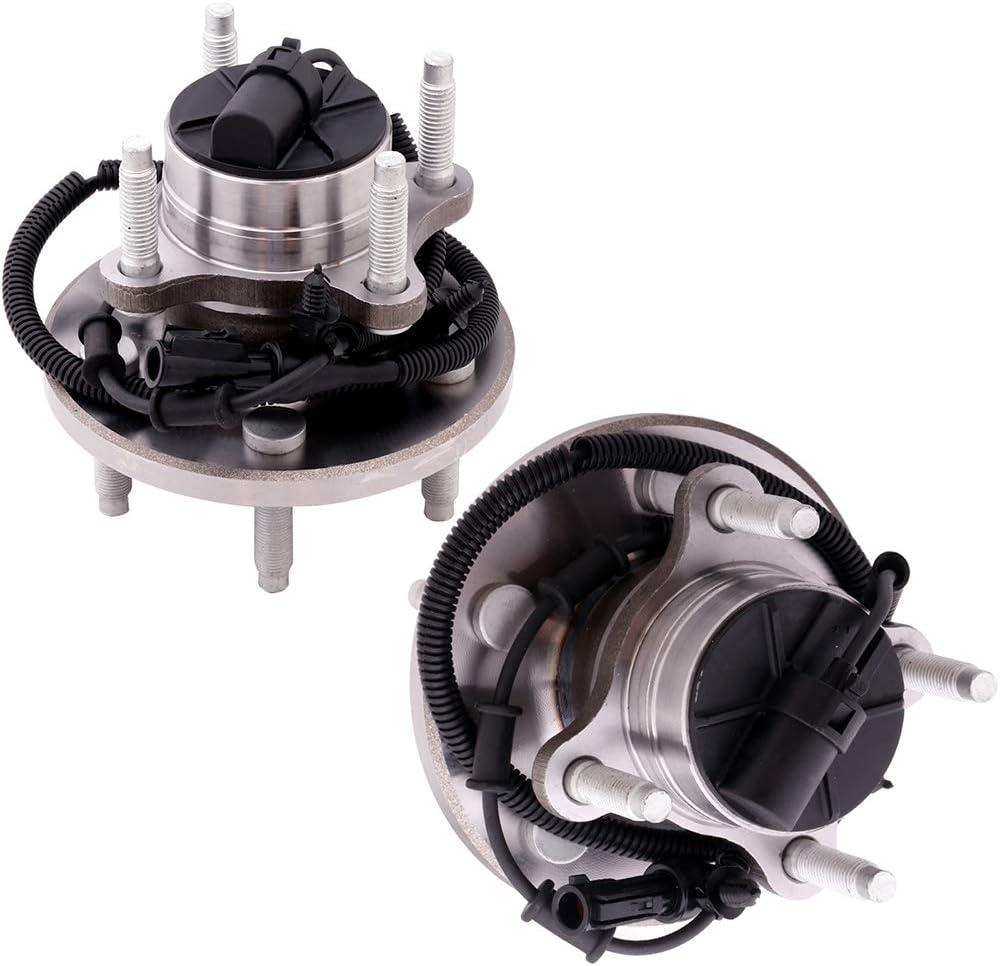 ECCPP Rear Left 5 Lugs Wheel Bearing and Hub Assembly for 2004-2007 Ford Freestar 2004-2007 Mercury Monterey Wheel Hub Bearings W//ABS 512312