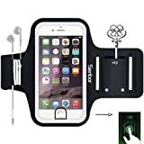 Amazon Price History for:Sports Armband, Sweatproof Running Exercise Gym Fitness Cellphone Sportband bag with [ Fingerprint Touch ][ Key Holder ][ Card Slot ] for iPhone 7, 7 Plus 6 6s Plus Samsung Galaxy S8 S7 Edge Note LG