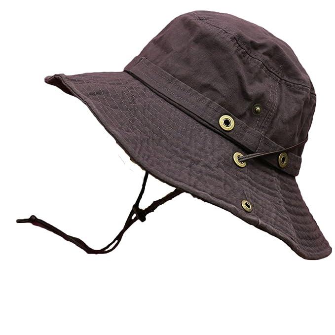山ガール ファッション 帽子 テンガロンハット UVカット サファリハット レディース 山ガール ウェア
