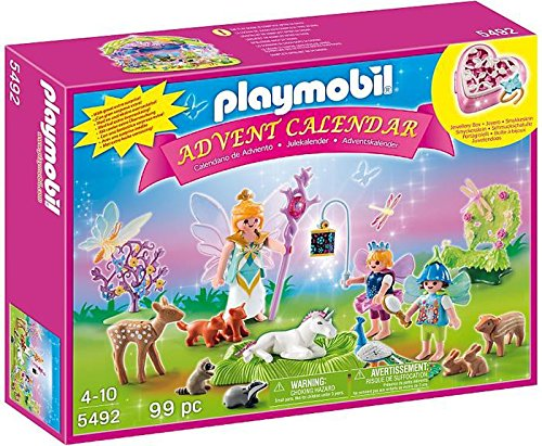 Playmobil 5492 - Adventskalender Einhorngeburtstag im Feenland de toys GEOVR