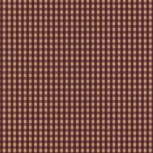 York Wallcoverings Best Of Country PV5215 Gingham Wallpaper, (Tan Plaid Wallpaper)