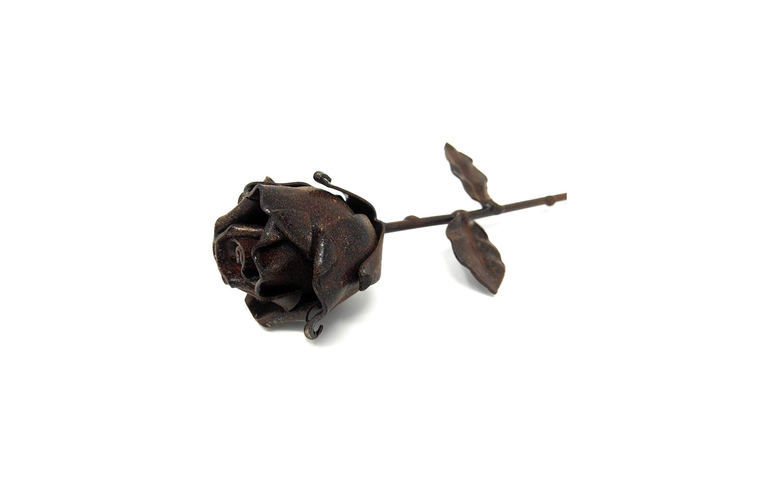 -Eternal-Rose-Hand-Forged-Wrought-Iron-RustedIdeal-gift-for-Valentines-Day-Girlfriend-Mothers-Day-Couple-Christmas-Wedding-Day-Anniversary-Decor-IndoorOutdoor