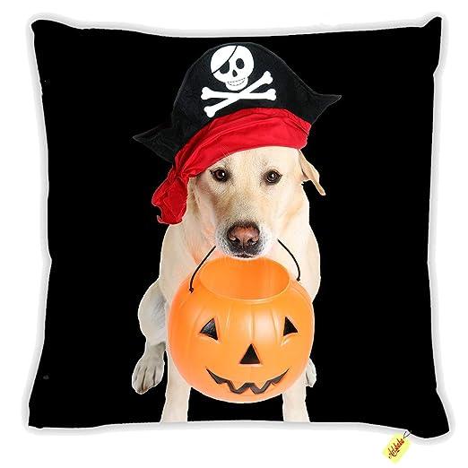 Artsbaba - Funda de cojín para Halloween, diseño de Perro ...