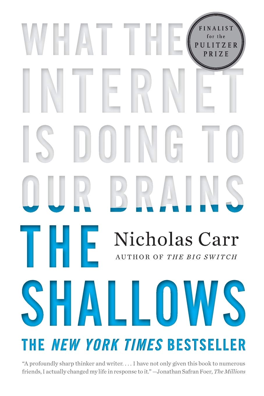 Amazon | The Shallows: What the Internet Is Doing to Our Brains | Carr,  Nicholas | Neuroscience