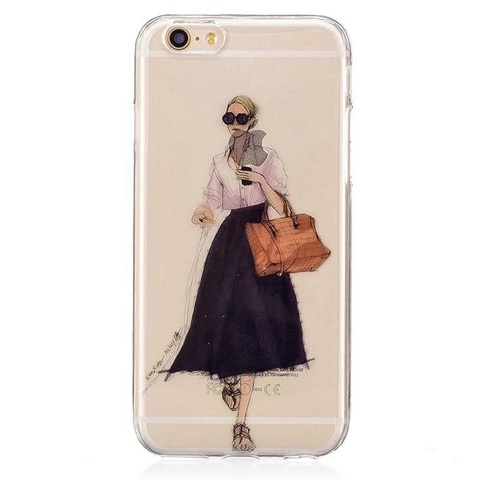 14 opinioni per Wanxideng Cover iPhone 6/iPhone 6S, Custodia in Silicone Morbida- Case di