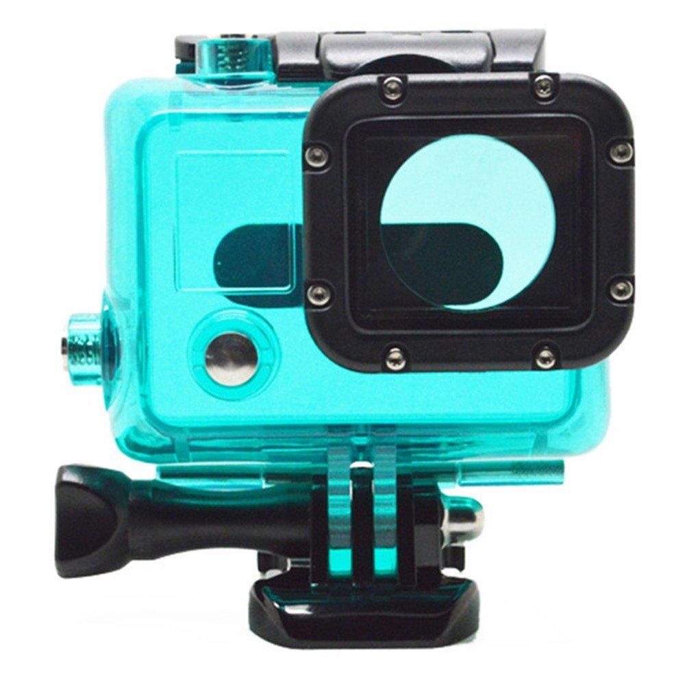 1 x Carcasa Impermeable Carcasa sumergible para cámara GoPro ...