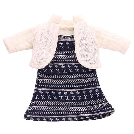 Uteruik - Ropa para muñeca de 46 cm, Traje de Invierno para niña ...