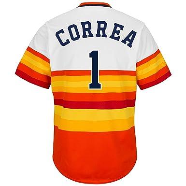 brand new 14108 0cc5f Amazon.com: Carlos Correa Houston Astros Youth Cool Base ...