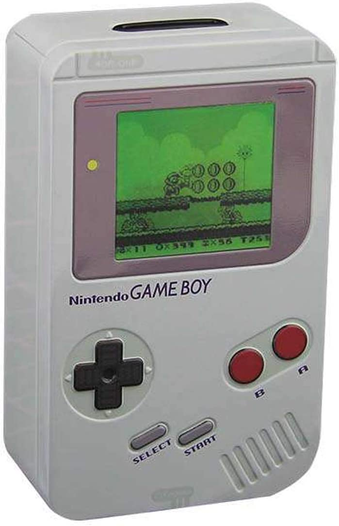 Paladone Nintendo Officially Licensed Merchandise - Classic Gameboy Bank - Money Box: Home & Kitchen