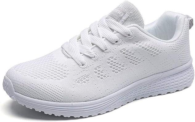 Zapatillas Deportivas Mujer Sneakers Zapatos para Correr para Niña Mujeres Running Zapatos Casuales de Mujer Ligero Respirable: Amazon.es: Zapatos y complementos