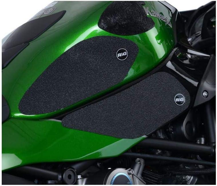 Motodak Kit Grip di Serbatoio R /& G Racing Traslucido 4/Pezzi Kawasaki H2/SX