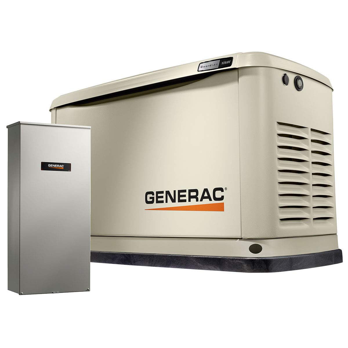 Generac 7172 Guardian 10kW Home Backup Generator with 16-Circuit Transfer Switch WiFi-Enabled by Generac