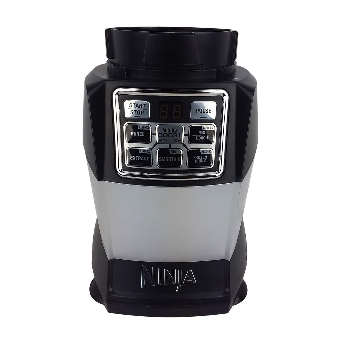 Original Ninja Kitchen System with Auto-iQ Boost Power Base Blender BL494 1200 Watt 7 Fin Gear For 24oz BPA Free Tritan Cup 72oz Pitcher Dough Blade Home Appliance (Certified Refurbished)
