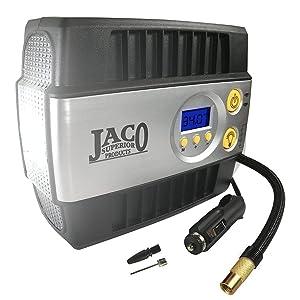 JACO SmartPro Digital Tire Inflator Pump - Premium 12V Portable Air Compressor - 100 PSI