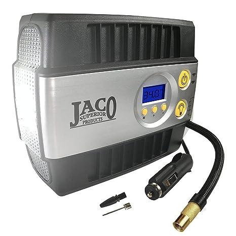 JACO Superior Products Bomba de inflado de neumáticos Smartpro Digital - Compresor de aire portátil Premium